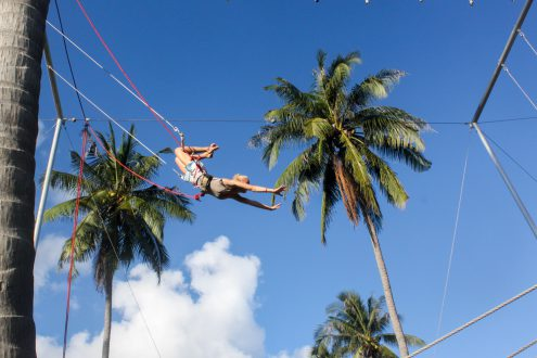goodtime adventures flying trapeze swing